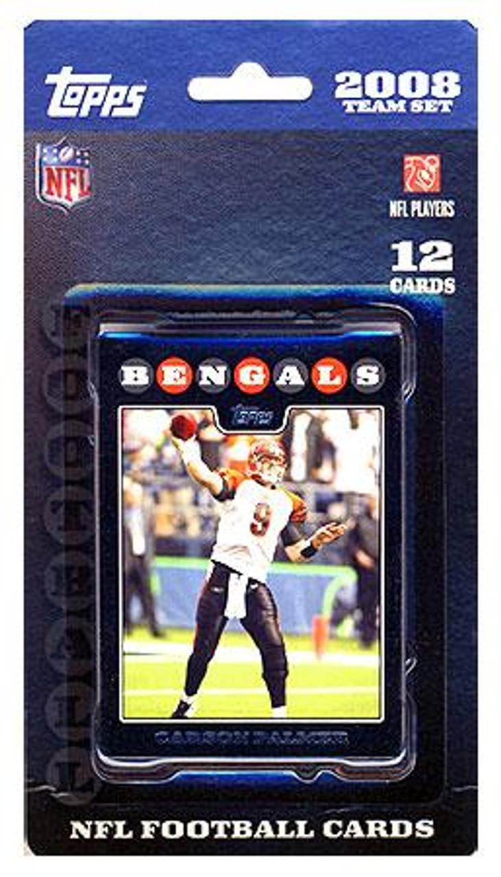 NFL 2008 Topps Football Cards Cincinnati Bengals Team Set