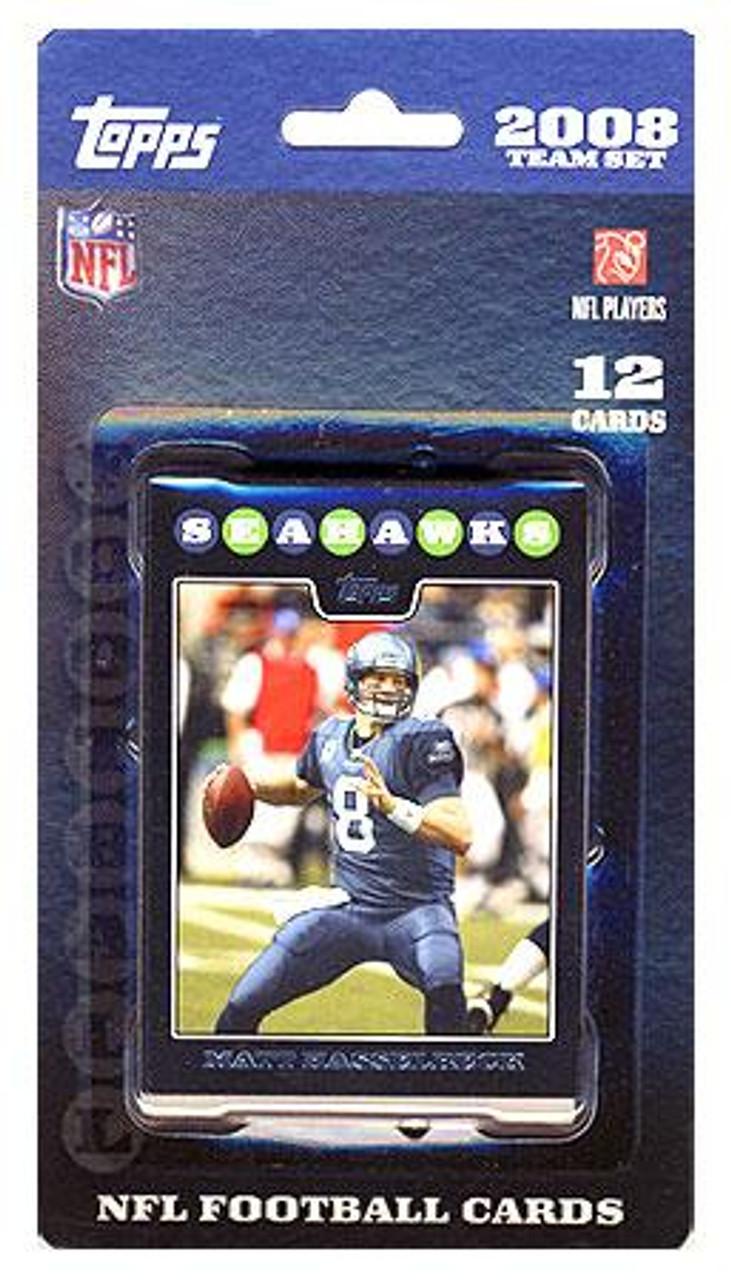NFL 2008 Topps Football Cards Seattle Seahawks Team Set