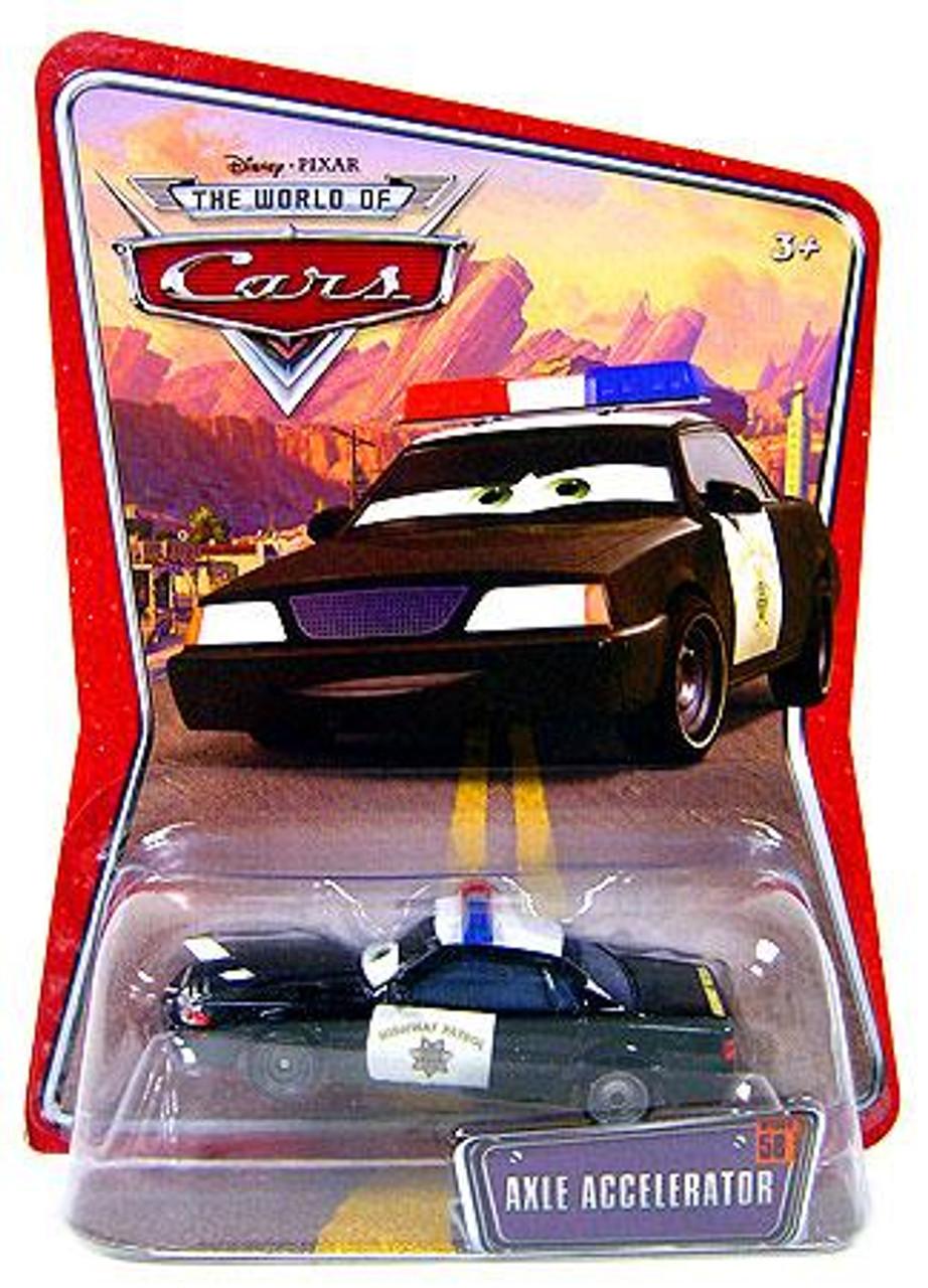 Disney Cars The World of Cars Axle Accelerator Diecast Car