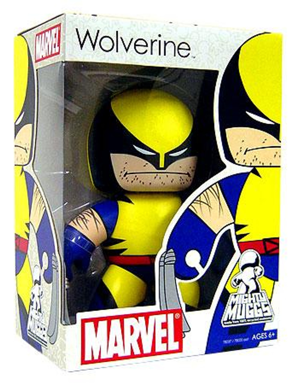Marvel Mighty Muggs Series 4 Wolverine Vinyl Figure