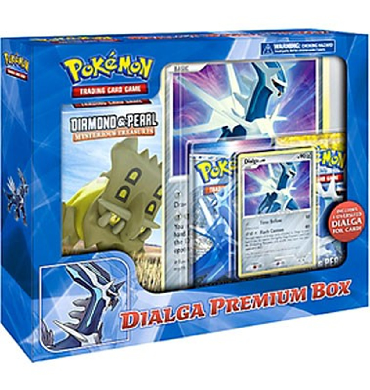 Pokemon Diamond & Pearl Dialga Premium Box