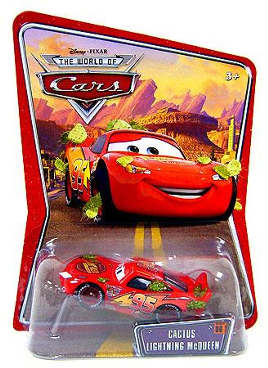 Disney Cars The World of Cars Cactus Lightning McQueen Diecast Car
