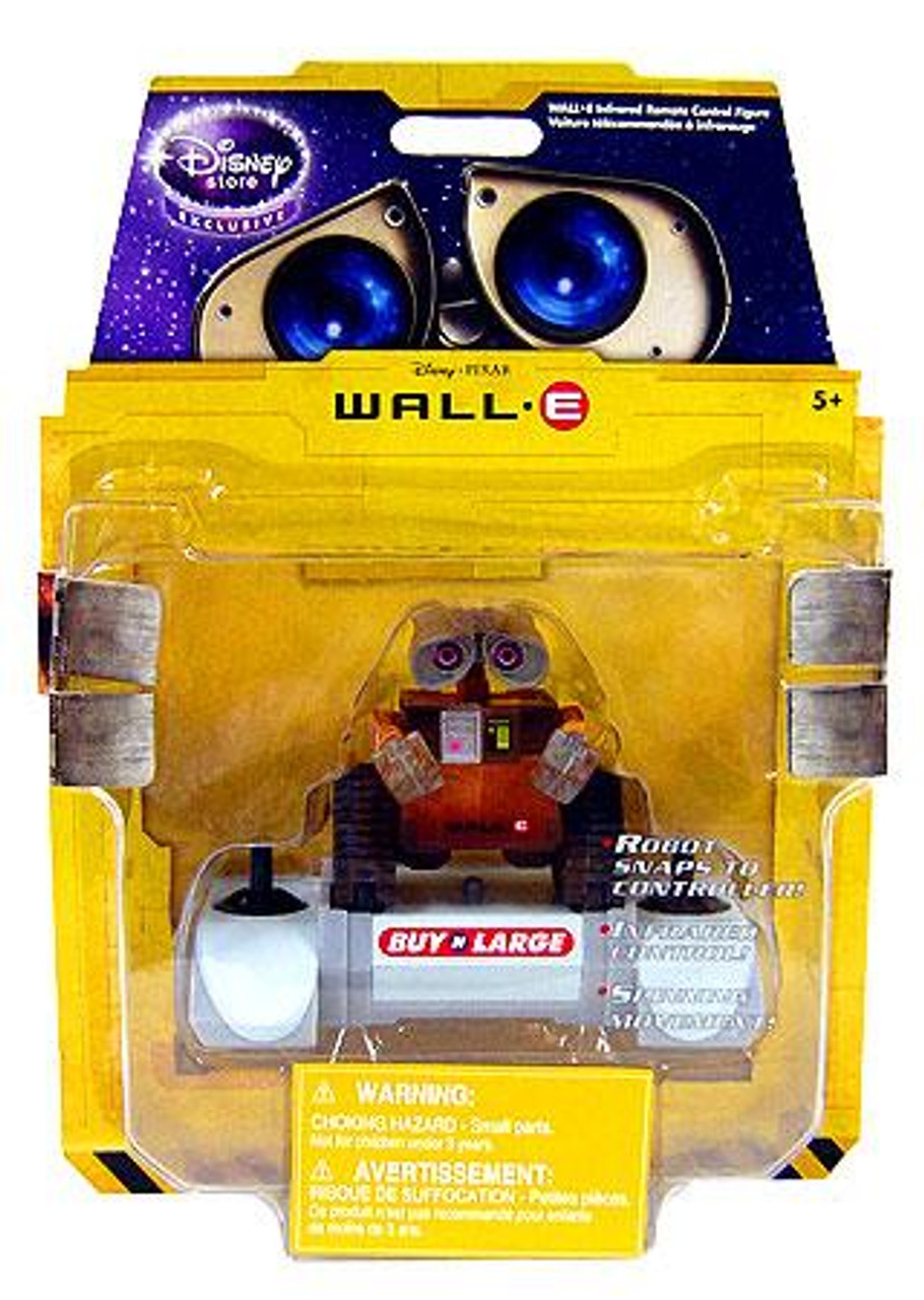 Disney / Pixar R/C Mini Figure Wall-E Exclusive Remote Control Robot