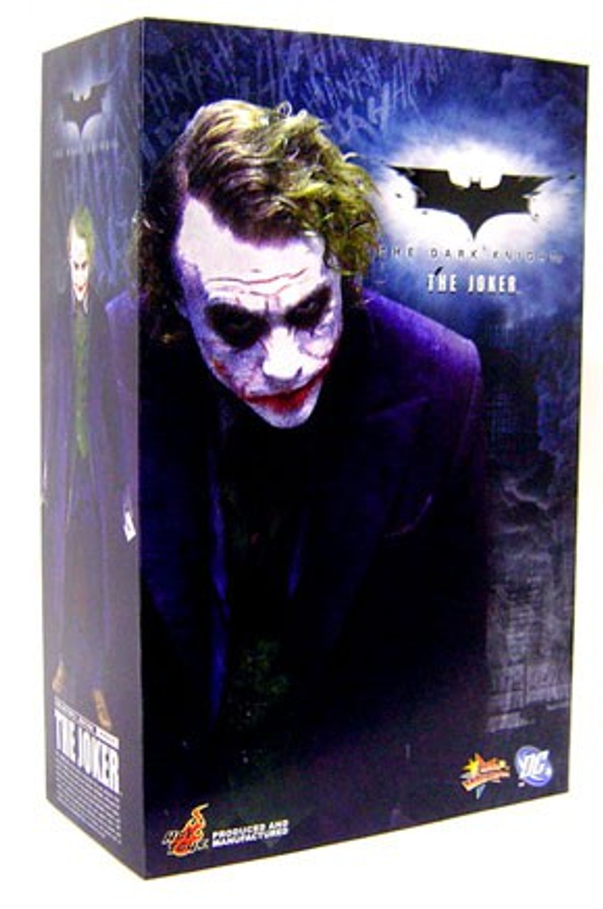 Batman The Dark Knight Movie Masterpiece The Joker 1/6 Collectible Figure