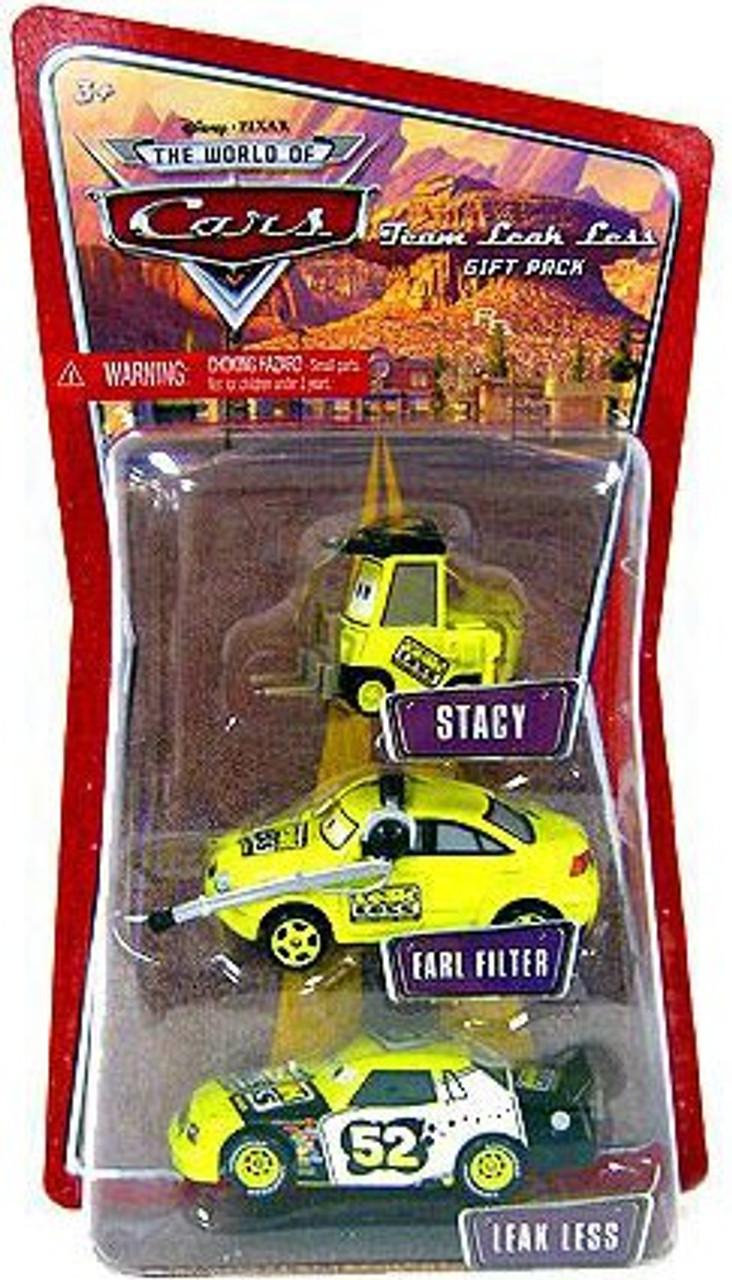 Disney Cars The World of Cars Team Leak Less Gift Pack Diecast Car Set