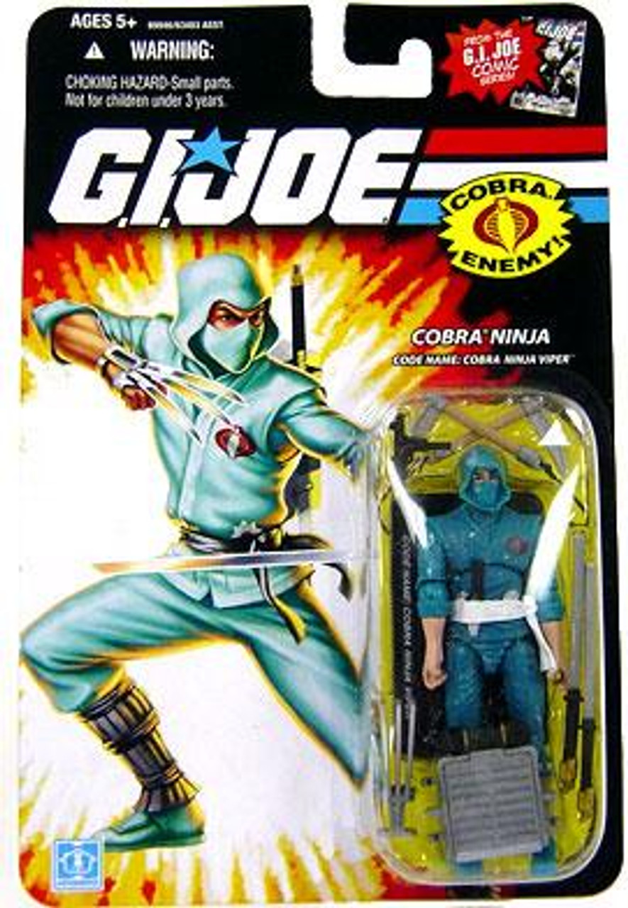 GI Joe Wave 12 Cobra Ninja Viper Action Figure