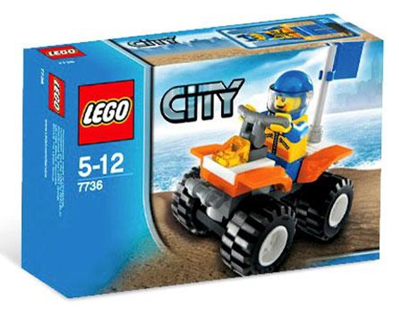 LEGO City Coast Guard Quad Bike Set #7736