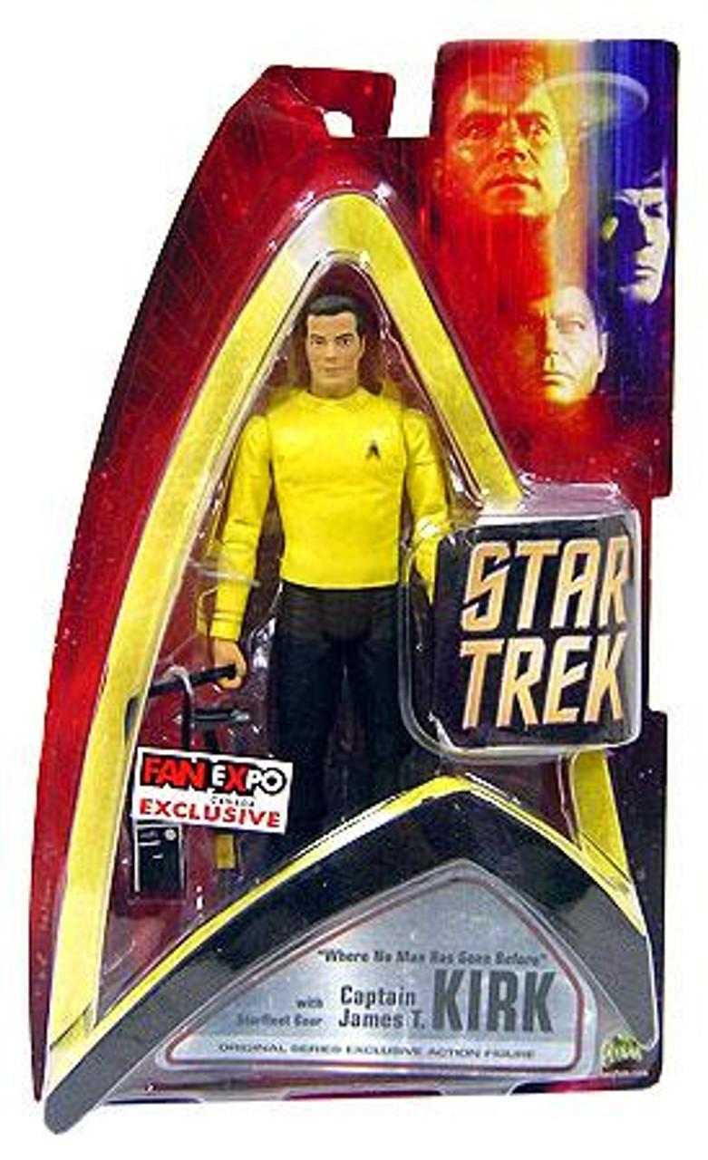 Star Trek The Original Series Captin Kirk Exclusive Action Figure