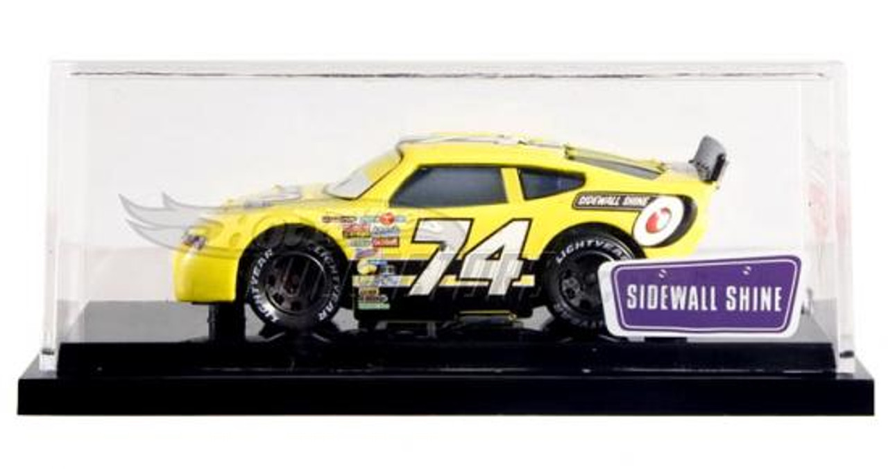 Disney Cars Exclusives Sidewall Shine Exclusive Diecast Car