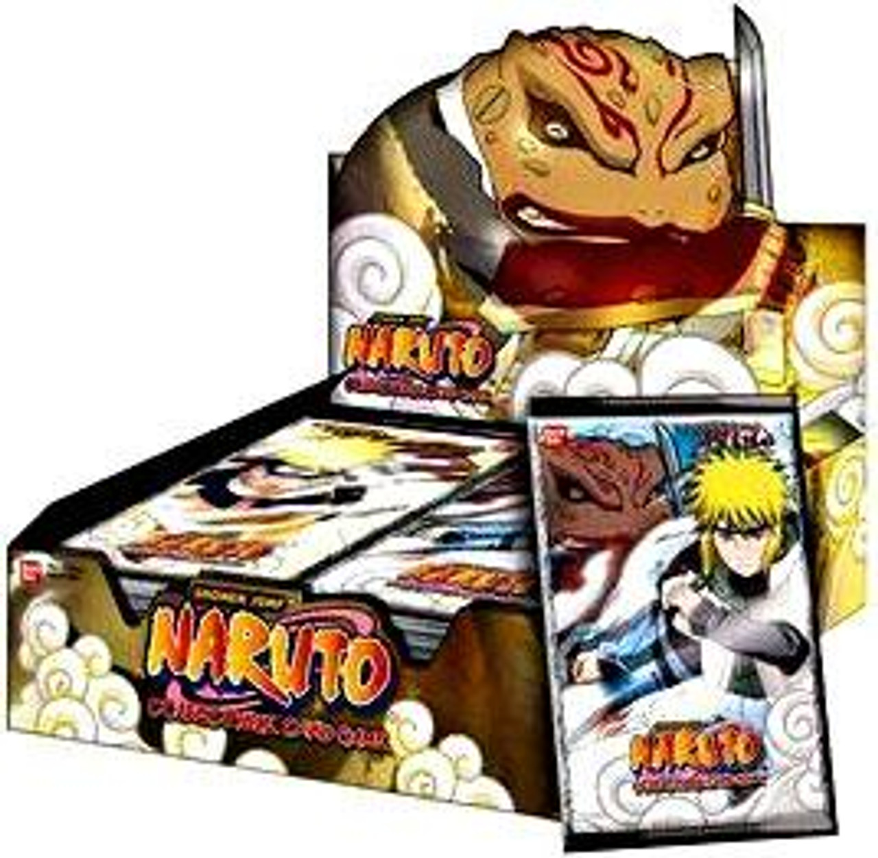 Naruto Card Game Approaching Wind Booster Box [24 Packs]