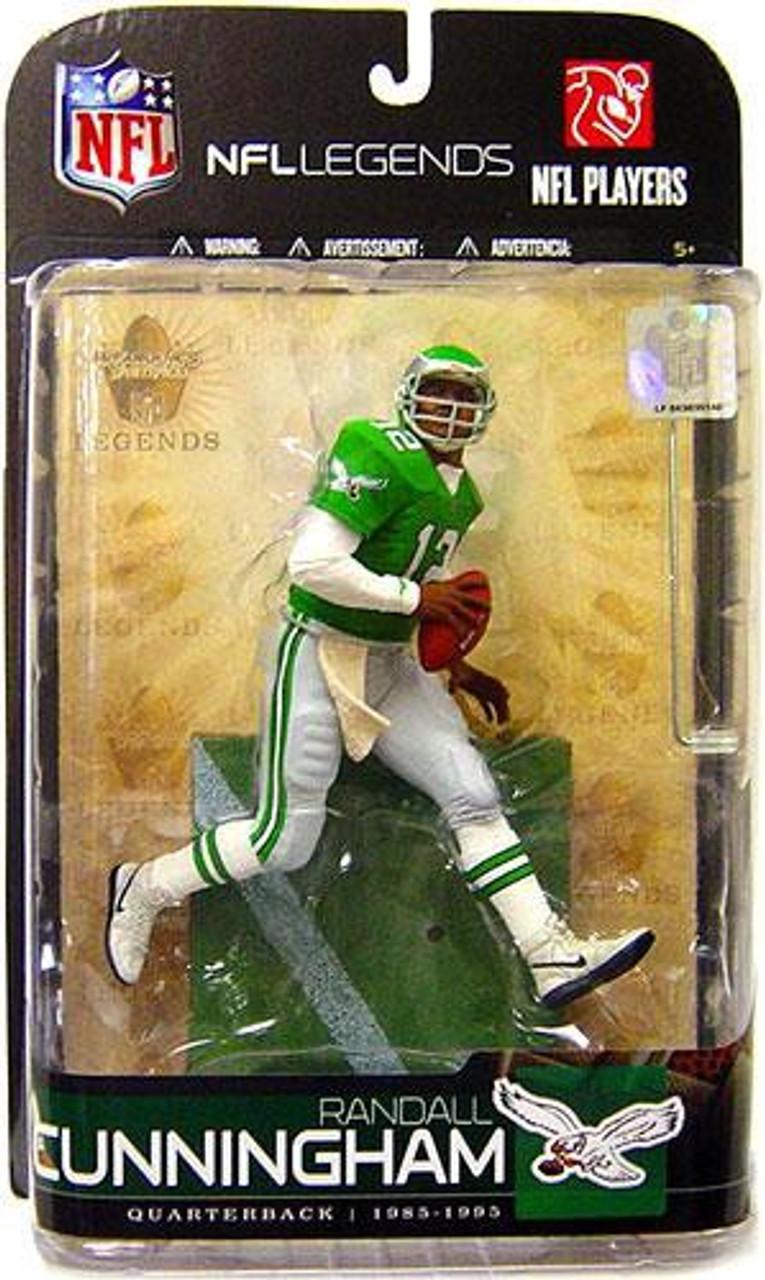 McFarlane Toys NFL Philadelphia Eagles Sports Picks Legends Series 5 Randall Cunningham Action Figure