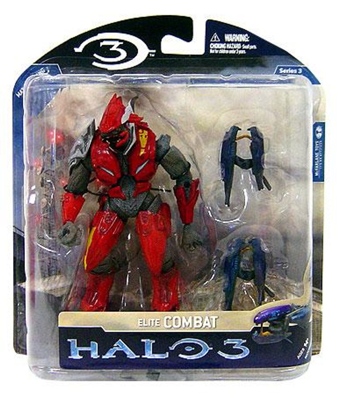 McFarlane Toys Halo 3 Series 3 Elite Combat Exclusive Action Figure [Red & Silver]