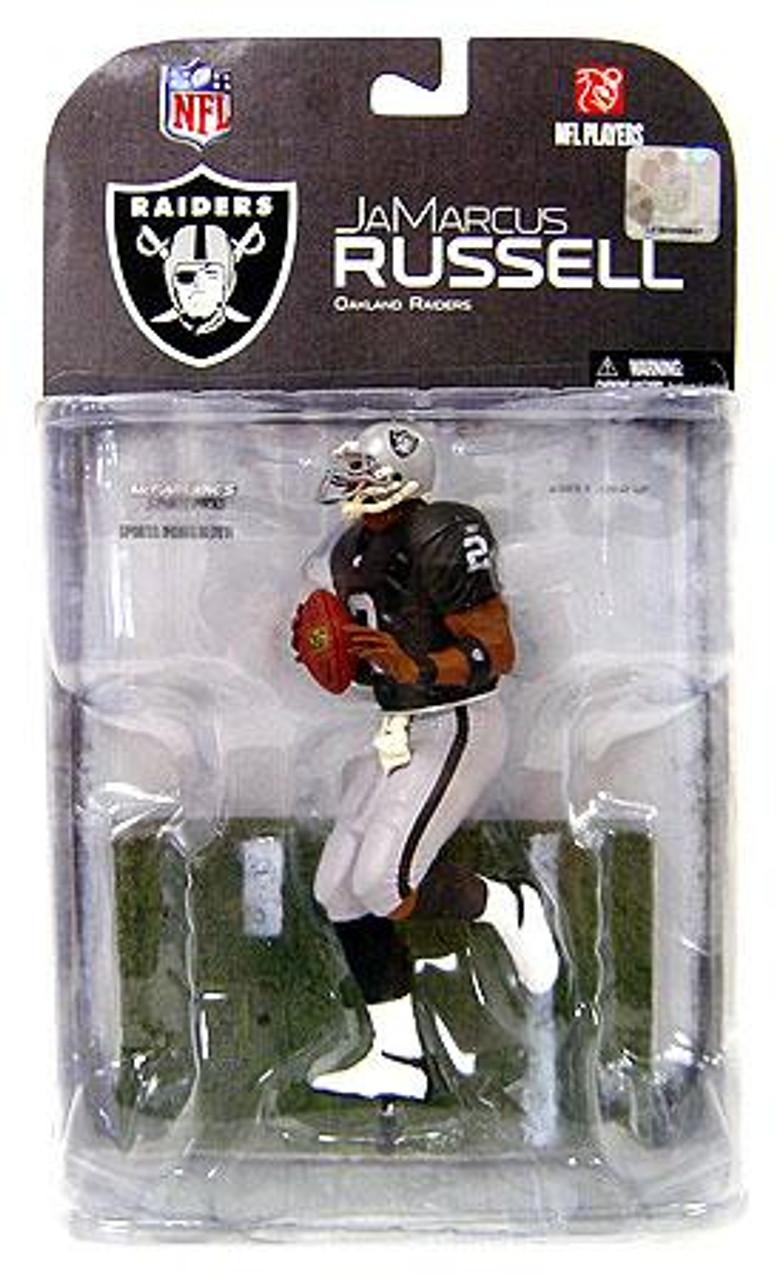 McFarlane Toys NFL Oakland Raiders Sports Picks Series 17 JaMarcus Russell Action Figure [Clean Uniform Variant]