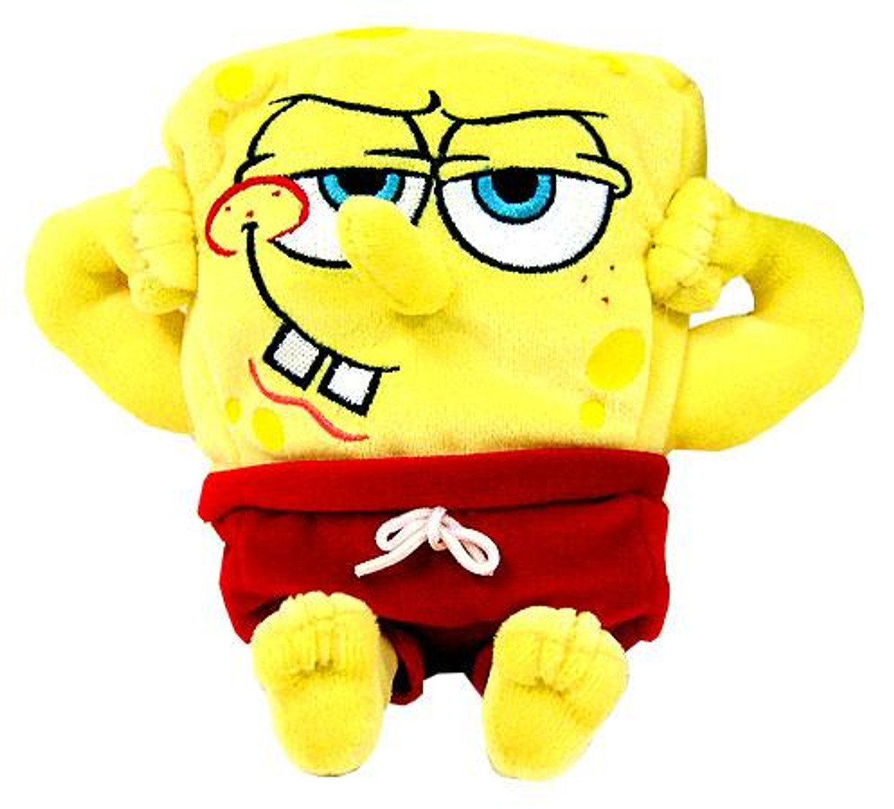 Spongebob Squarepants MuscleBob BuffPants 6-Inch Plush