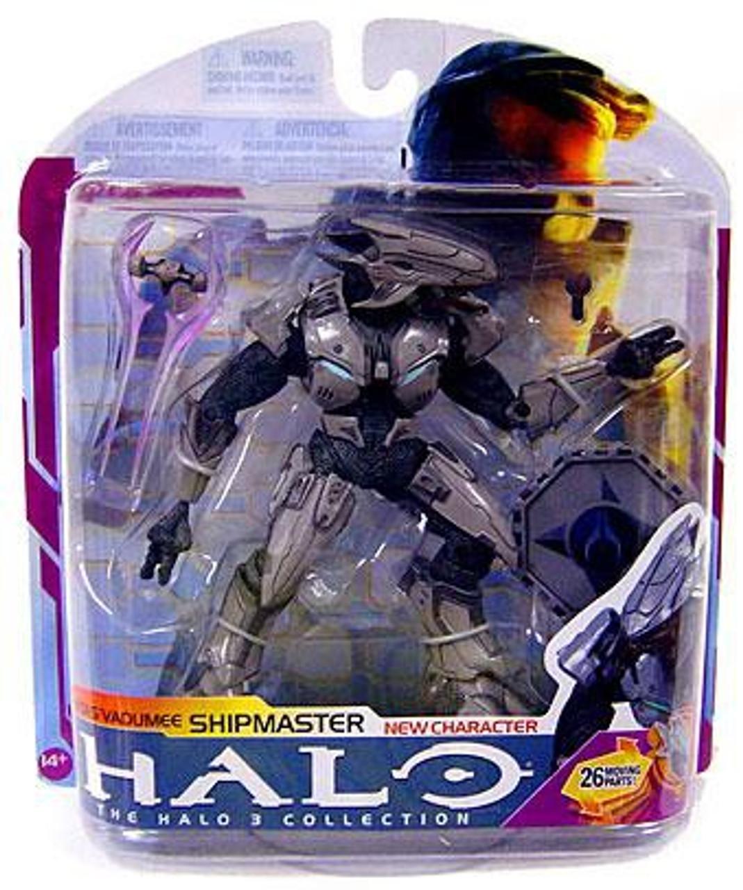 McFarlane Toys Halo 3 Series 6 Medal Edition Shipmaster Rtas Vadumee Action Figure