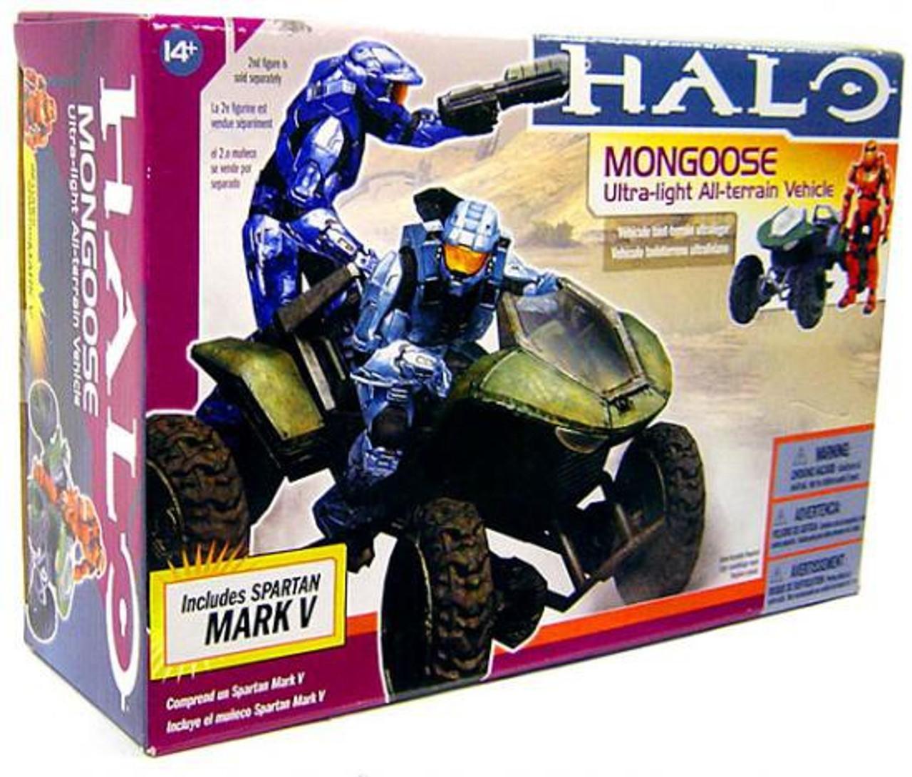 McFarlane Toys Halo Deluxe Mongoose Action Figure Vehicle [Spartan Mark V]