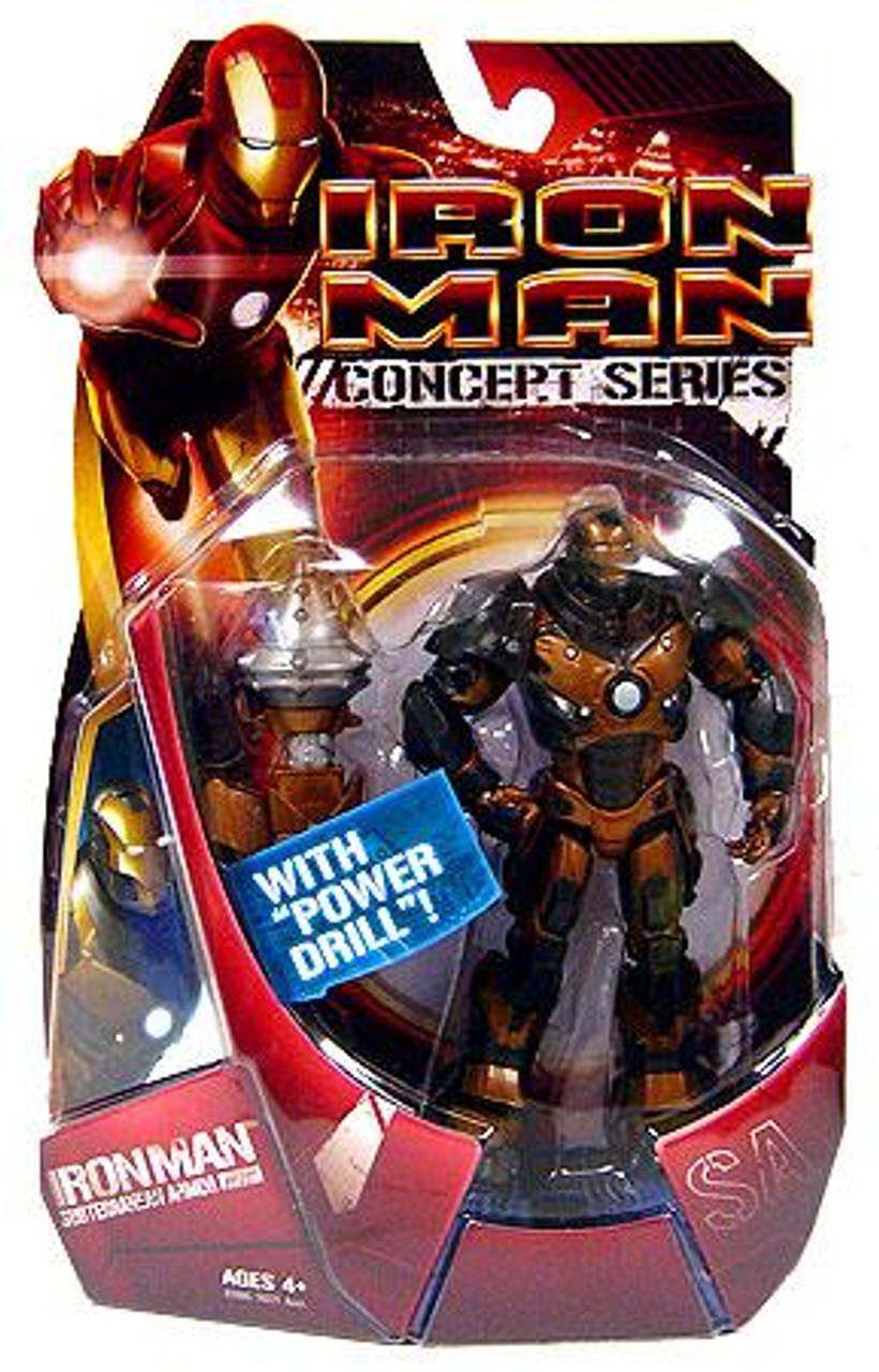 Iron Man Concept Series Subterranean Armor Iron Man Action Figure