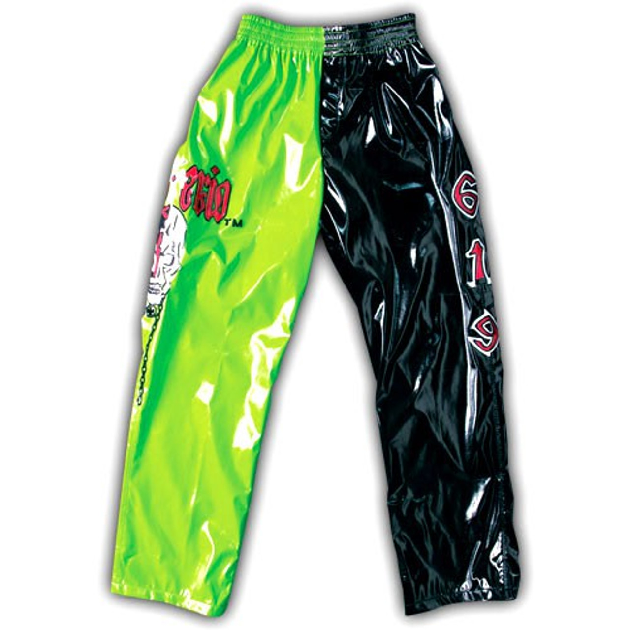WWE Wrestling WCW Rey Mysterio Replica Pants [Green & Black]