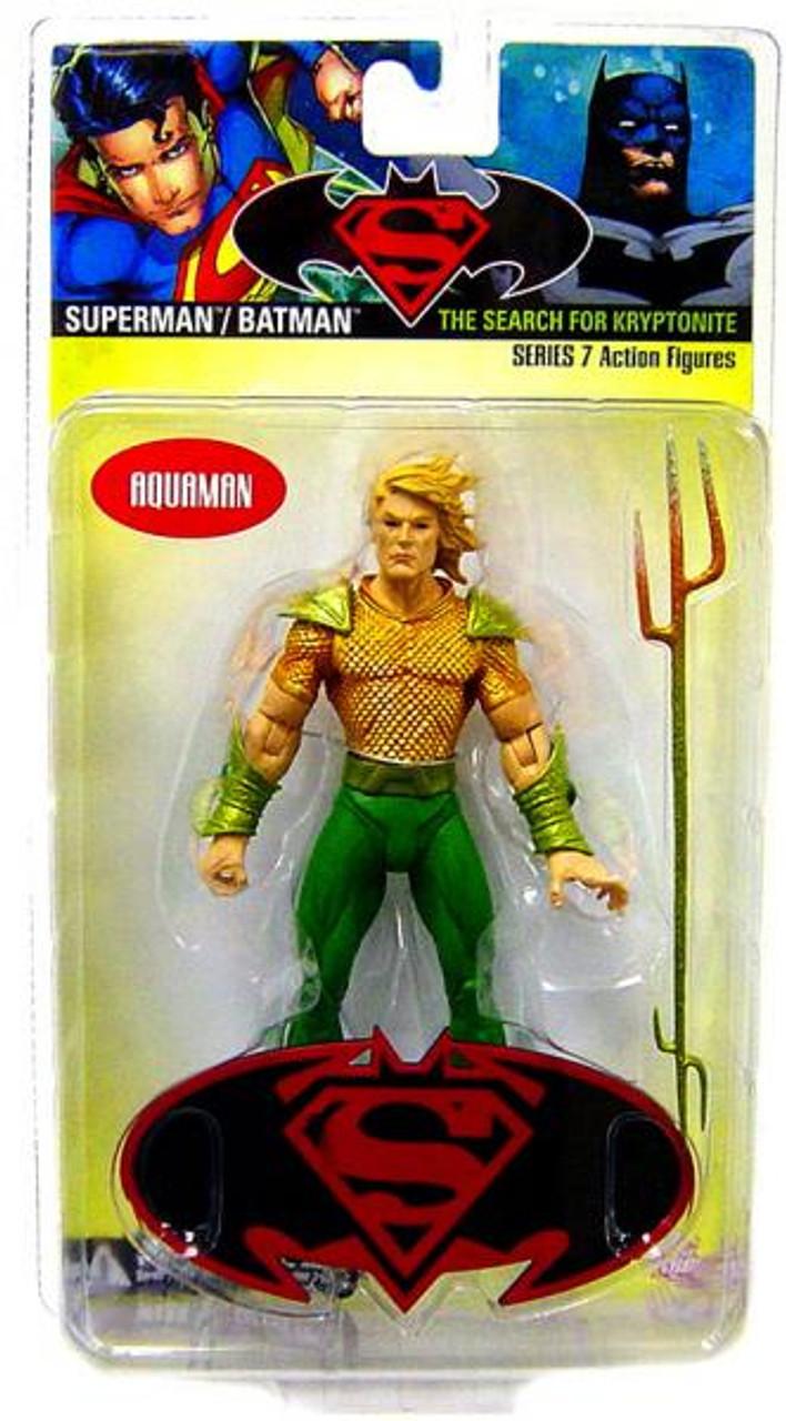 DC Superman Batman Series 7 The Search for Kryptonite Aquaman Action Figure