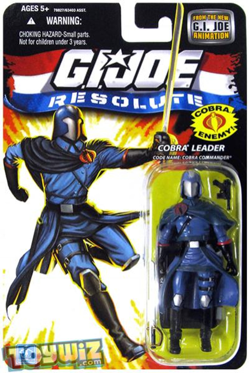 GI Joe Resolute Wave 13 Cobra Commander Action Figure