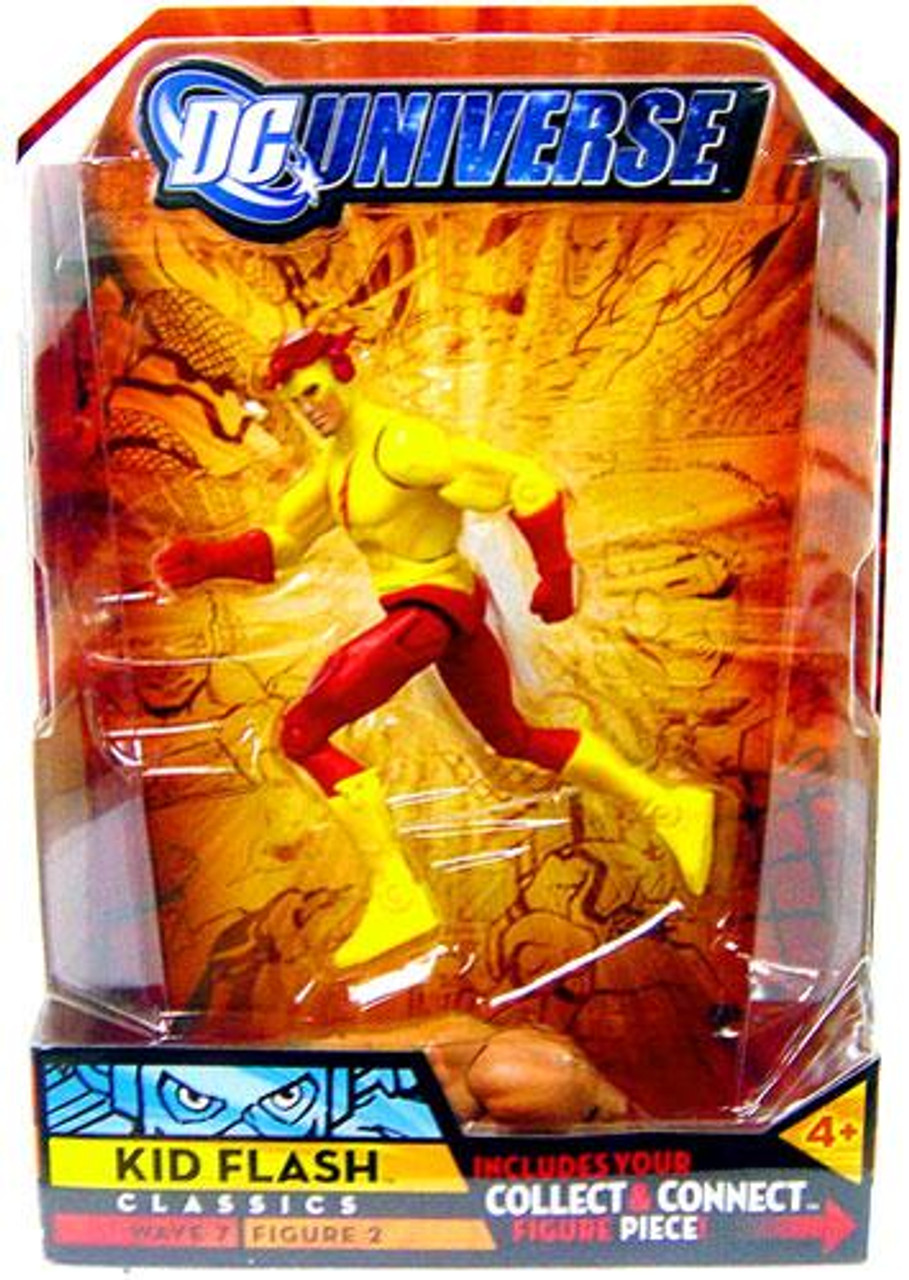 DC Universe Classics Atom Smasher Series Kid Flash Action Figure #2