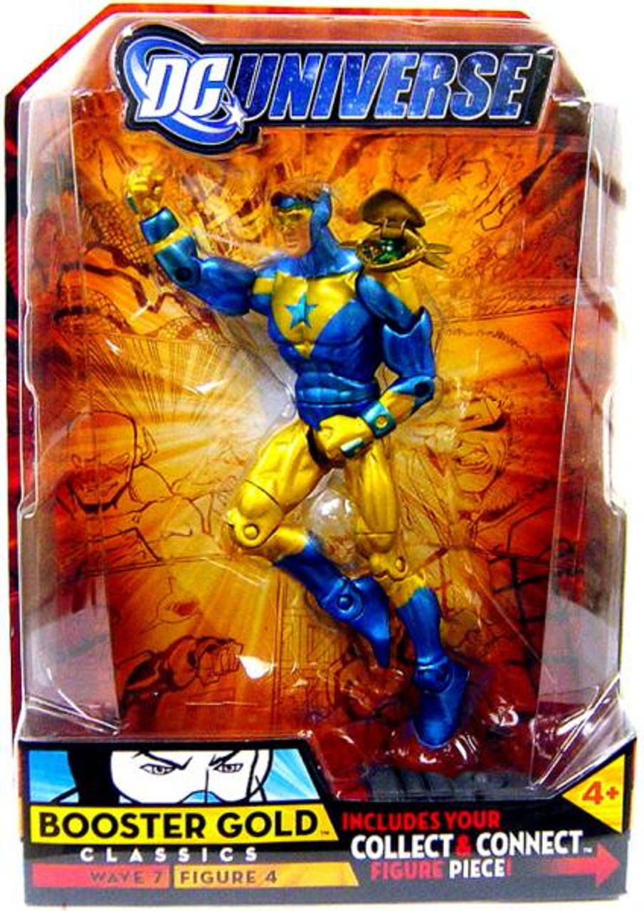 DC Universe Classics Atom Smasher Series Booster Gold Action Figure #4