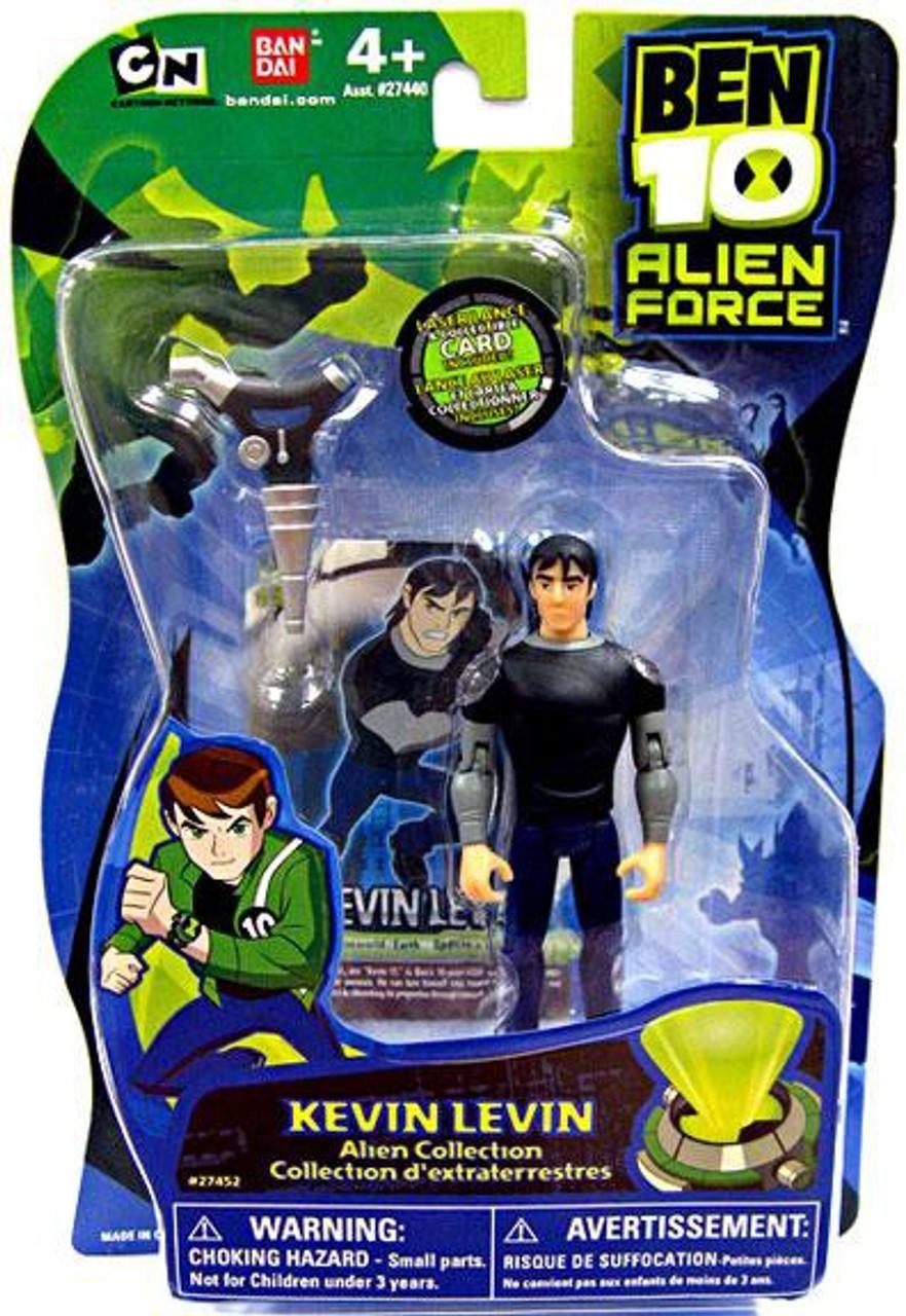 Ben 10 Alien Force Alien Collection Kevin Levin Action Figure