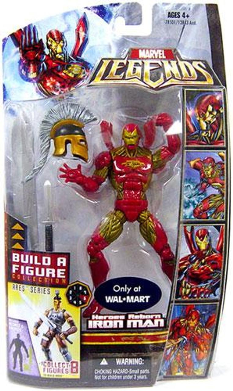 Marvel Legends Ares Build a Figure Heroes Reborn Iron Man Exclusive Action Figure