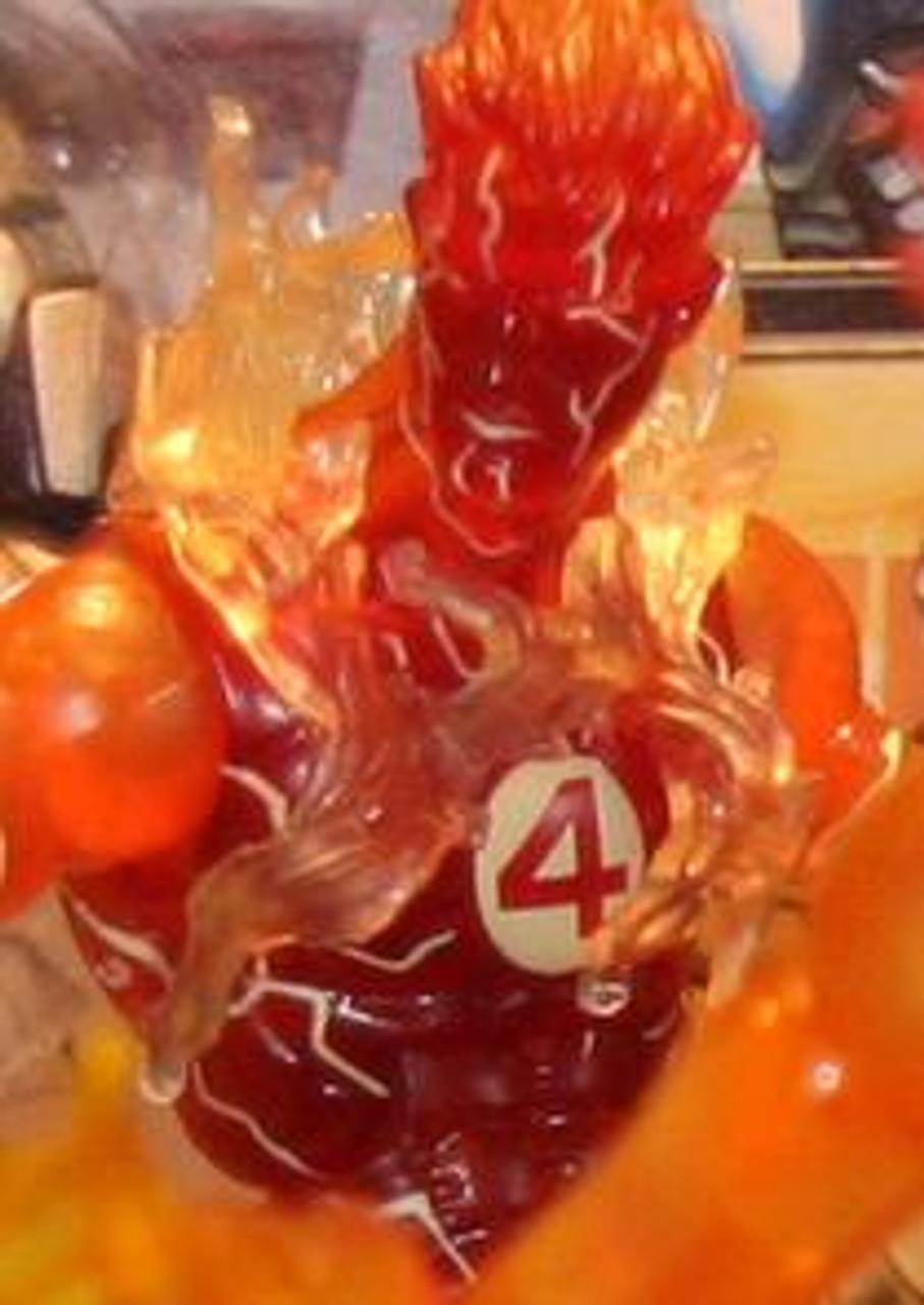 Marvel Legends Ares Build a Figure Human Torch Exclusive Action Figure [Jim Lee Variant]