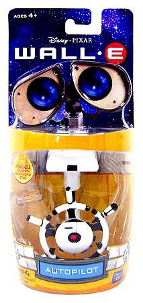 Disney / Pixar Wall-E 3 Inch Poseable AutoPilot Mini Figure