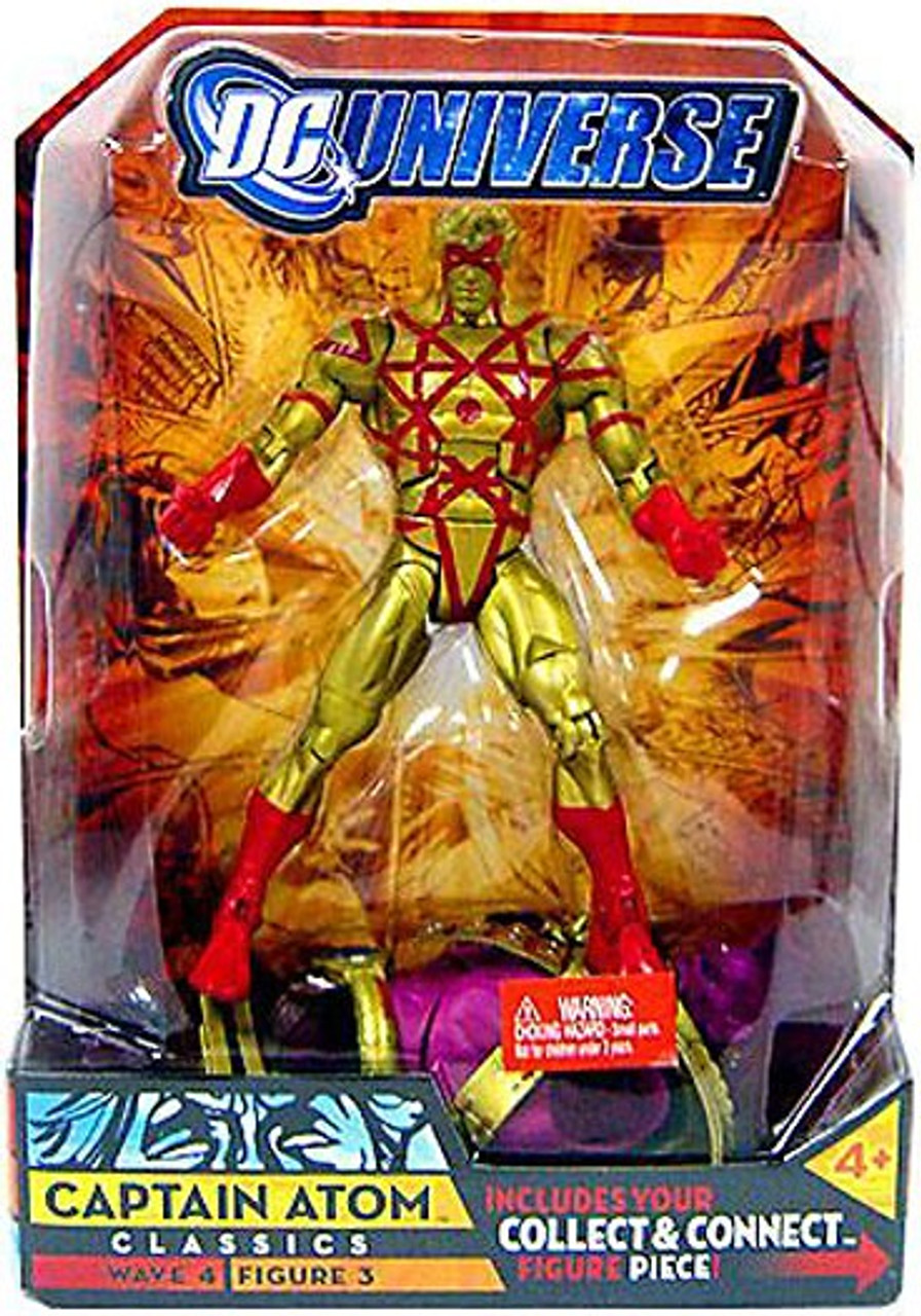 DC Universe Classics Despero Series Captain Atom Action Figure #3 [Gold]