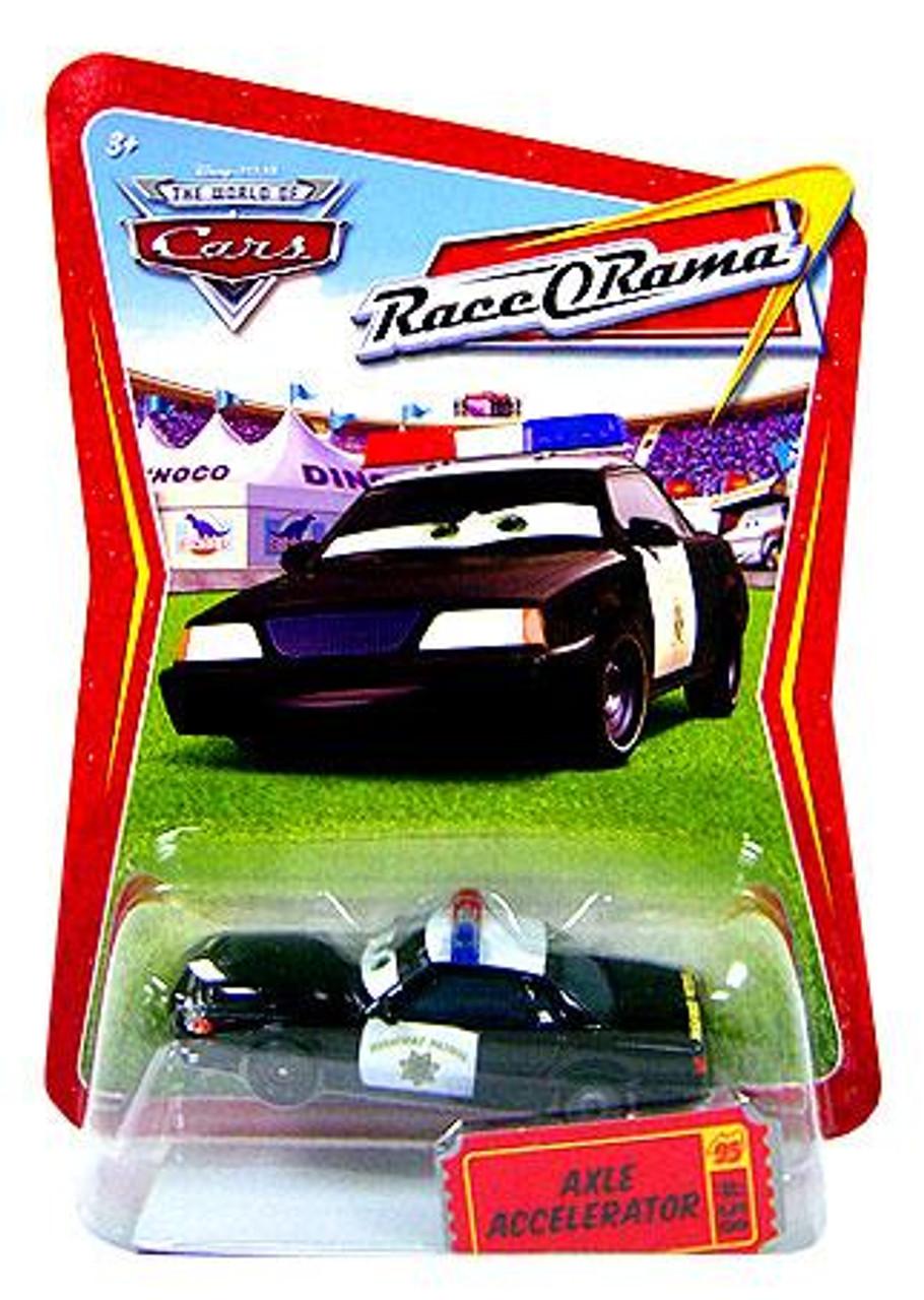 Disney Cars The World of Cars Race-O-Rama Axle Accelerator Diecast Car #58
