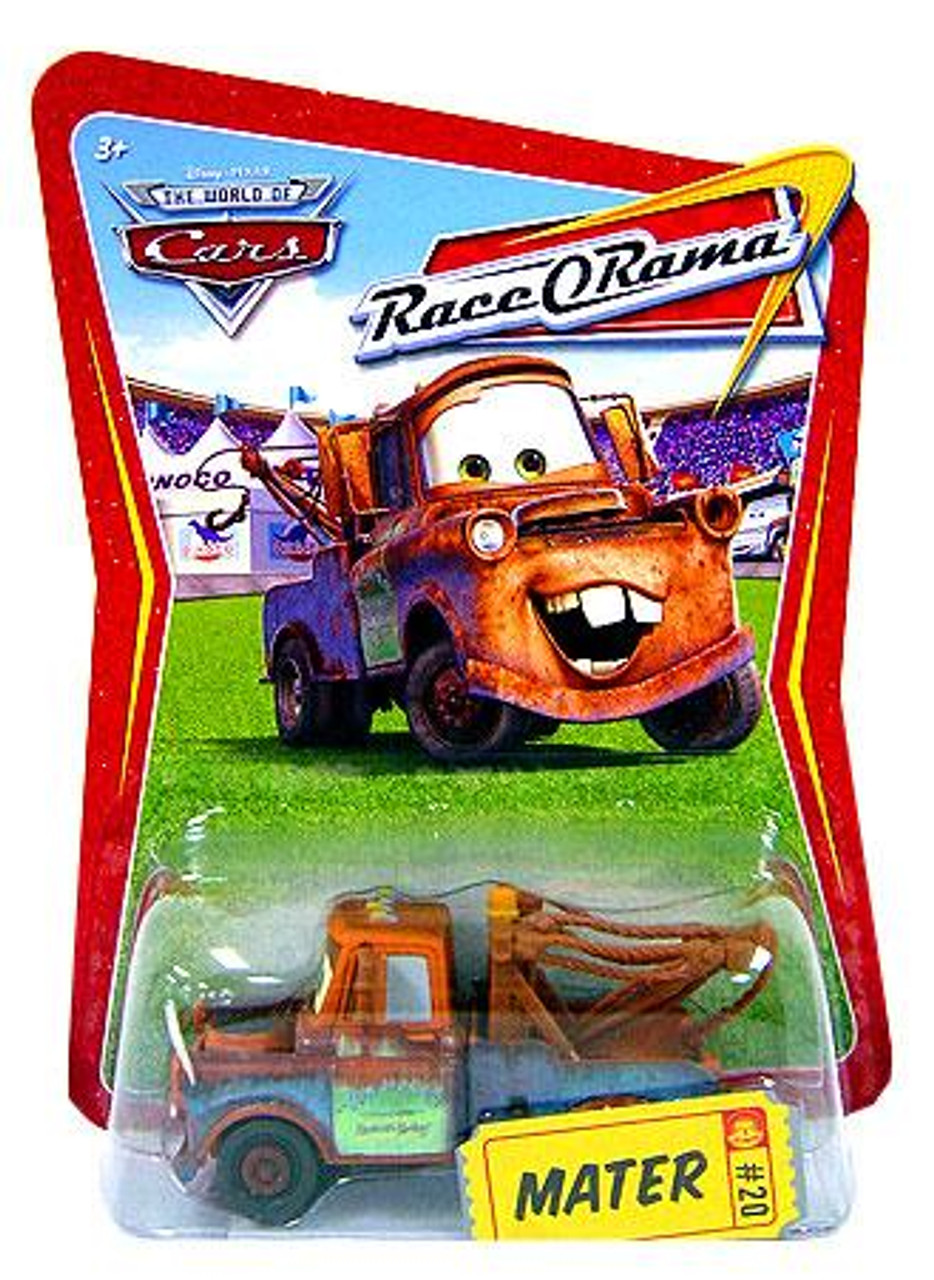 Disney Cars The World of Cars Race-O-Rama Mater Diecast Car #20
