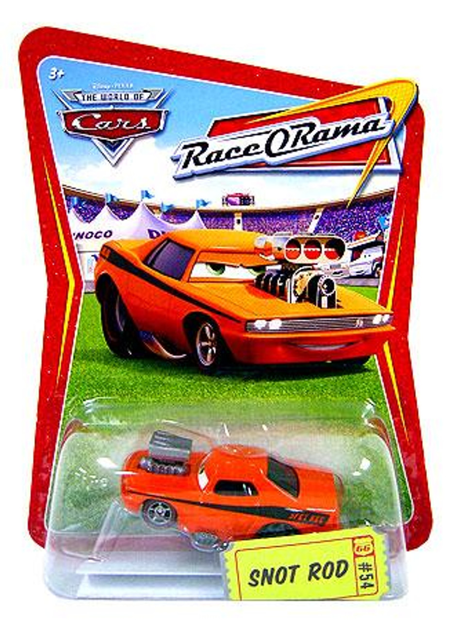 Disney Cars The World of Cars Race-O-Rama Snot Rod Diecast Car #54