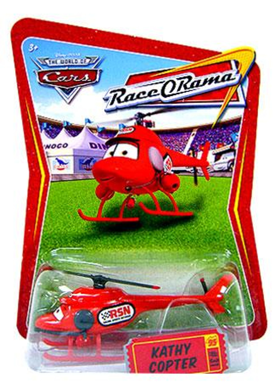 Disney Cars The World of Cars Race-O-Rama Kathy Copter Diecast Car #31