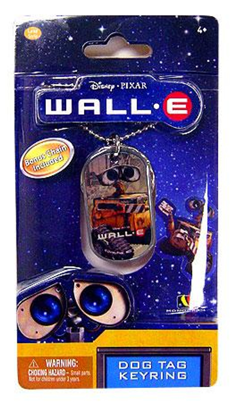 Disney / Pixar Wall-E Dog Tag Keyring