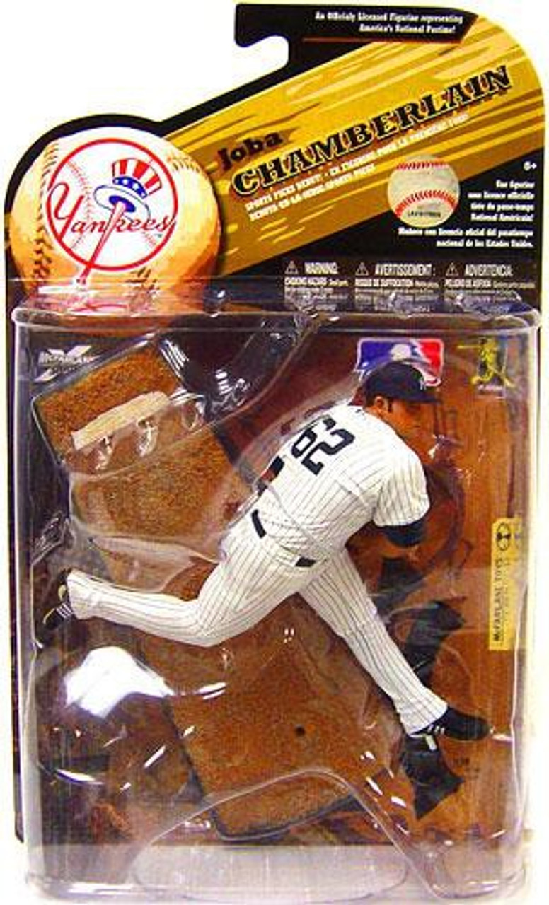 McFarlane Toys MLB New York Yankees Sports Picks Series 25 Joba Chamberlain Action Figure [White Jersey]