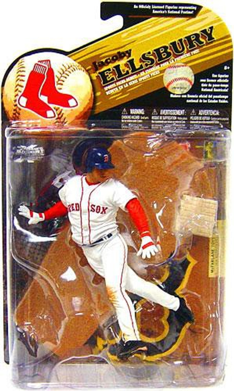 McFarlane Toys MLB Boston Red Sox Sports Picks Series 25 Jacoby Ellsbury Action Figure [White Jersey]