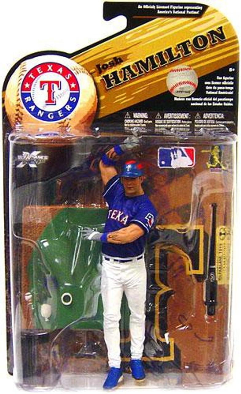 McFarlane Toys MLB Texas Rangers Sports Picks Series 25 Josh Hamilton Action Figure [Blue Jersey]