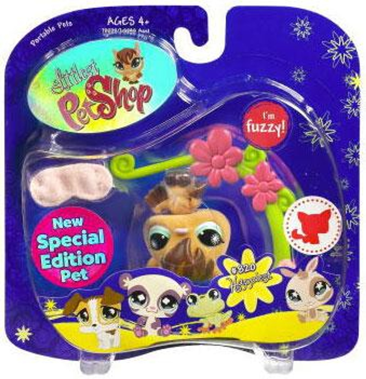 Littlest Pet Shop 2009 Assortment B Series 1 Bat Figure #820 [Vine]
