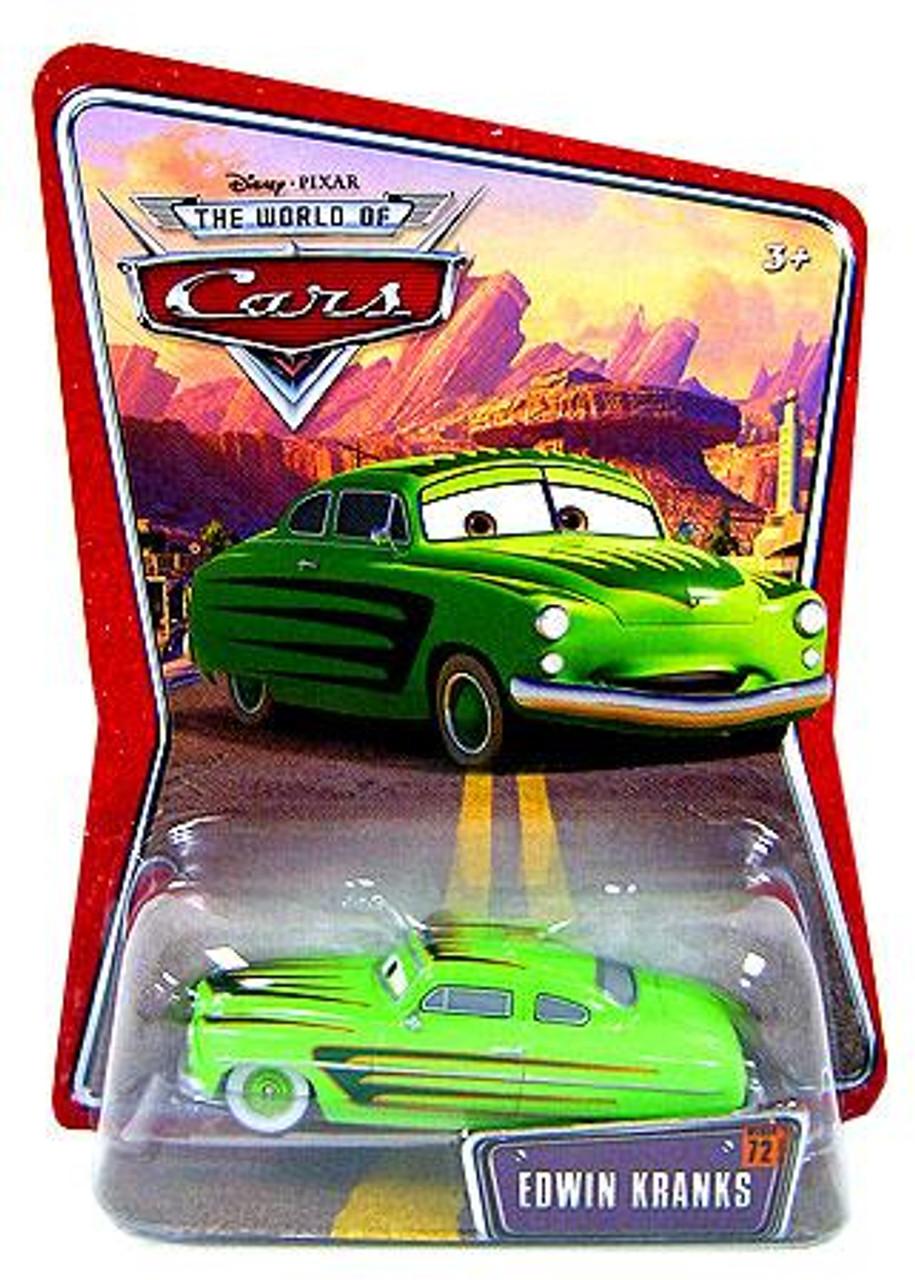 Disney Cars The World of Cars Series 1 Edwin Kranks Exclusive Diecast Car