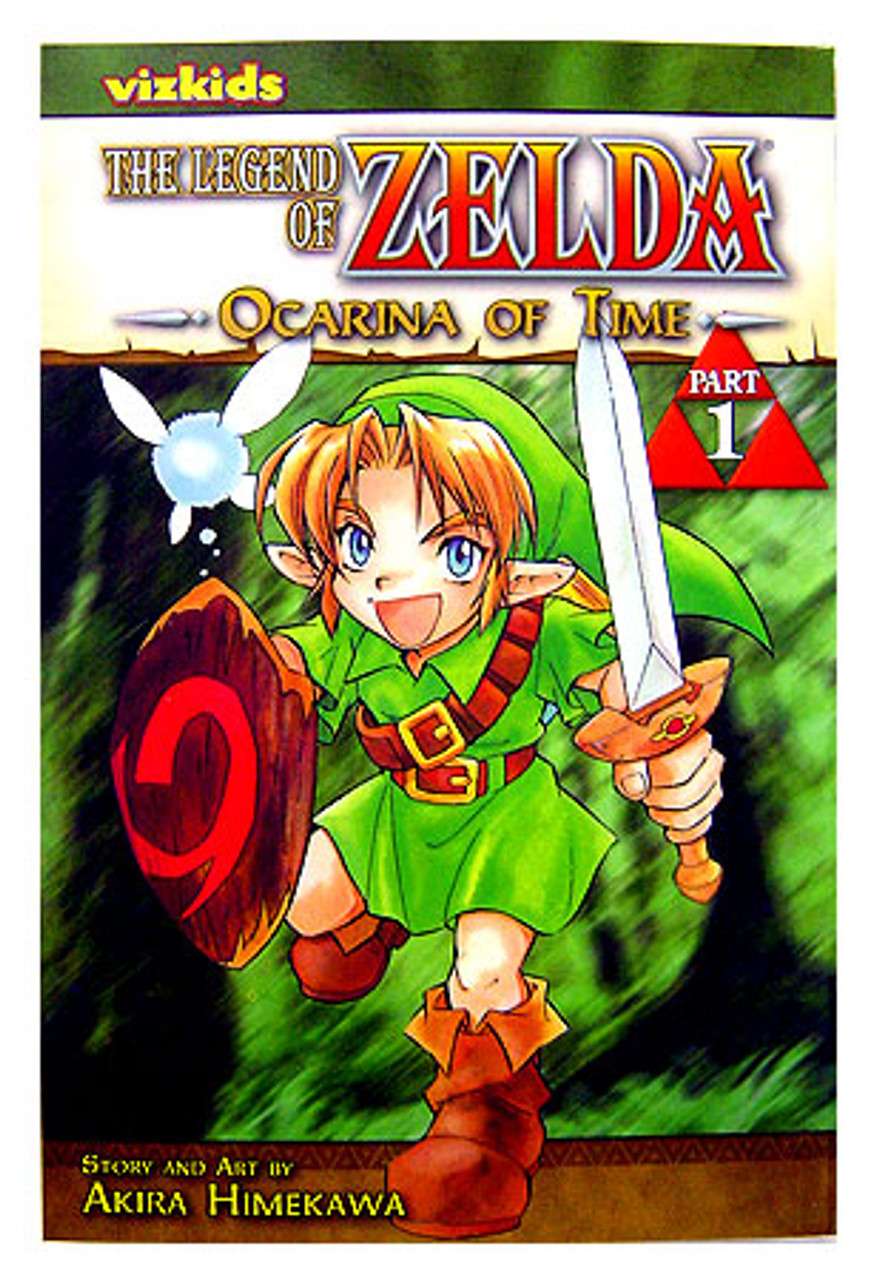The Legend of Zelda Ocarina of Time Manga [Volume 1]