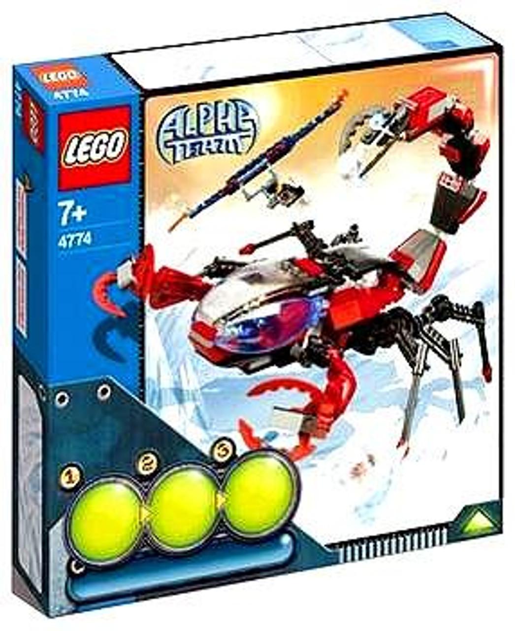 LEGO Alpha Team Scorpion Orb Launcher Set #4774