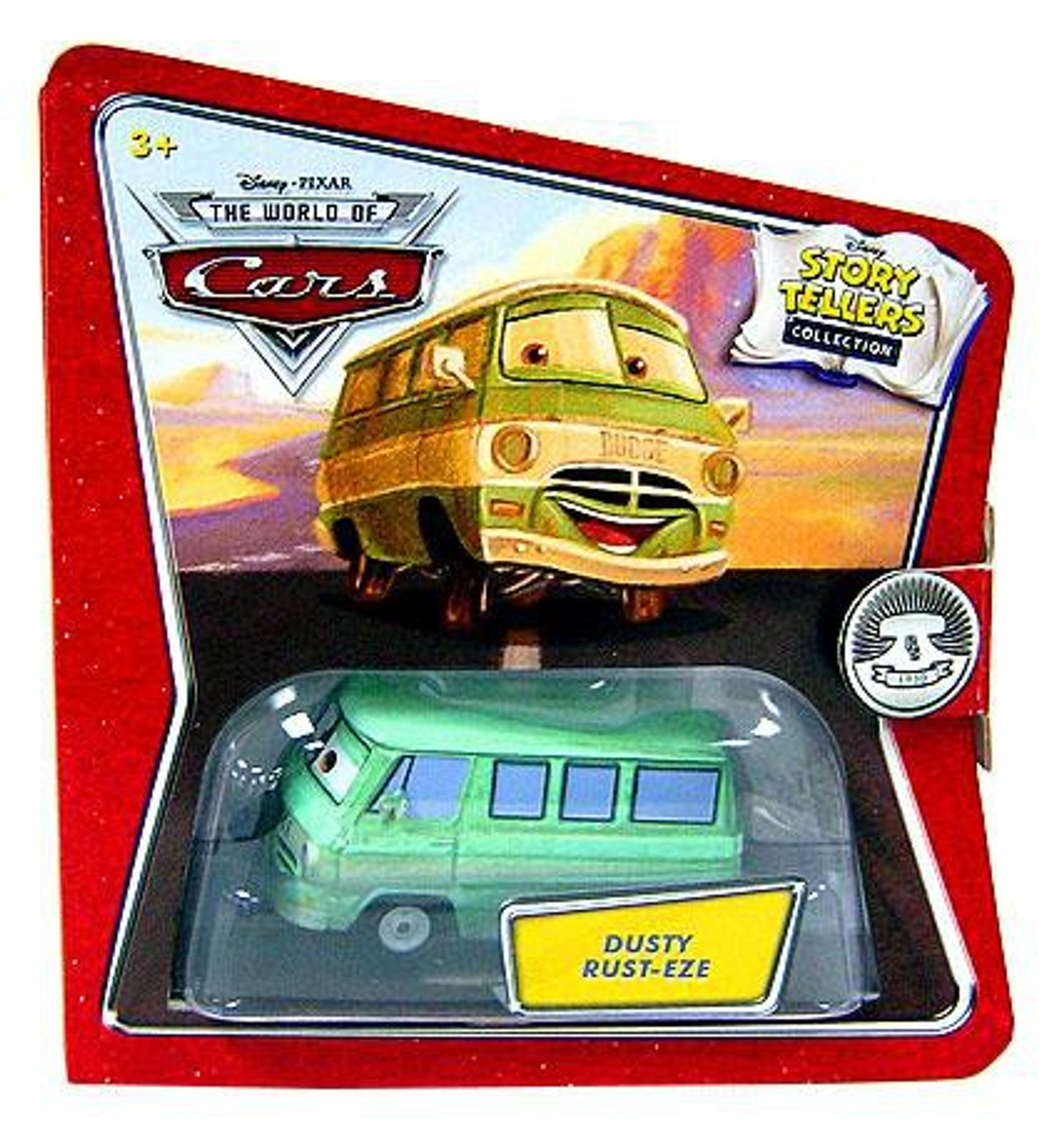 Disney Cars The World of Cars Story Tellers Dusty Rust-Eze Diecast Car
