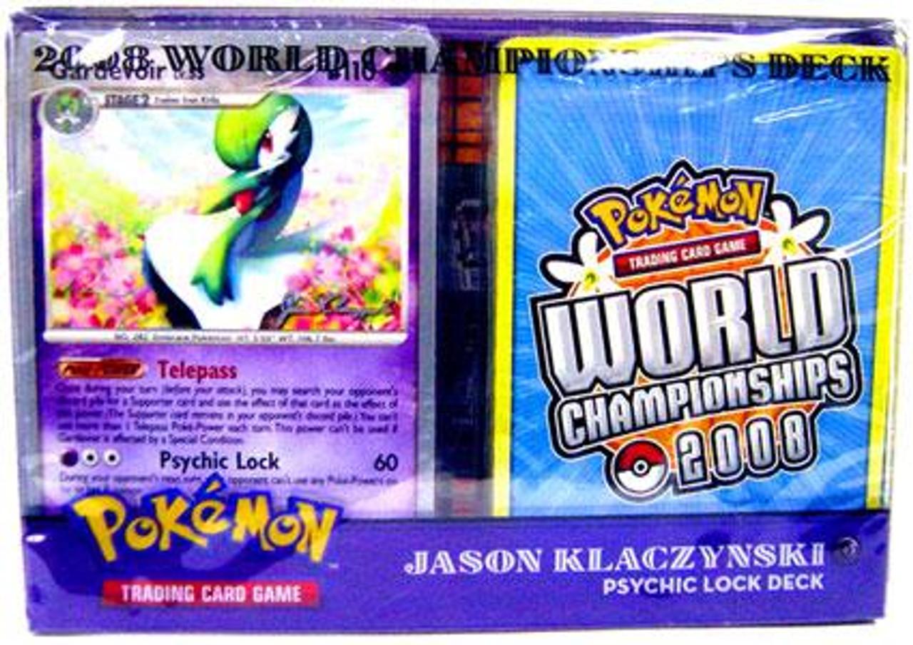 Pokemon World Championships Deck 2008 Jason Klaczynski's Psychic Lock Deck