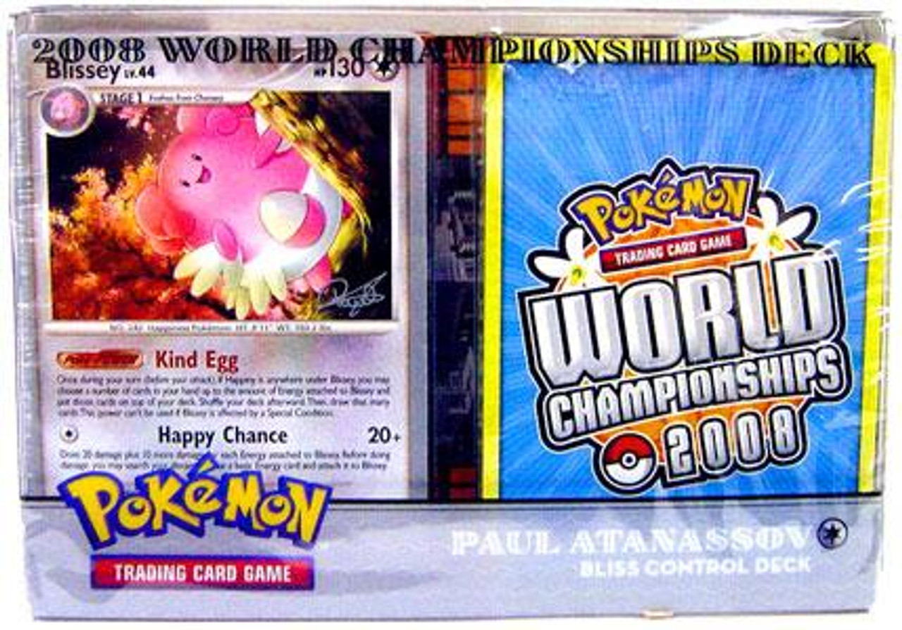 Pokemon World Championships Deck 2008 Paul Atanasson's Blissey Control Deck