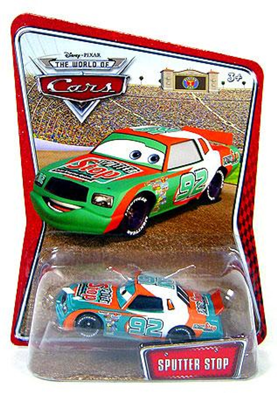 Disney Cars The World of Cars Sputter Stop Exclusive Diecast Car