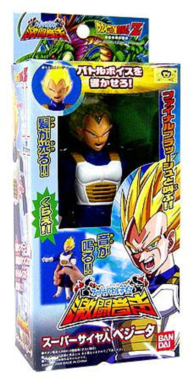 Dragon Ball Z Light & Sound Super Saiyan Vegeta Action Figure