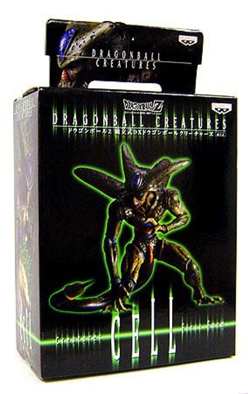 Dragon Ball Z Creatures Collection Cell Collectible Figure [First Form]