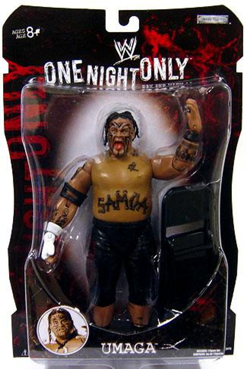 WWE Wrestling Pay Per View Series 19 One Night Only Umaga Action Figure